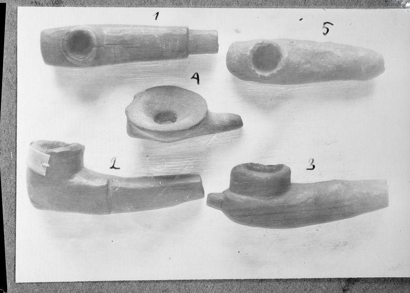 Pipes Kitra en terre et en bois