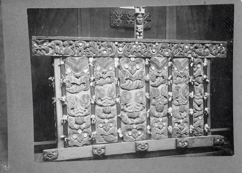 Tombeau de chef Maori