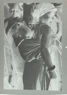 Femme harratine et son enfant