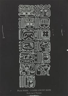 Une date longue Maya