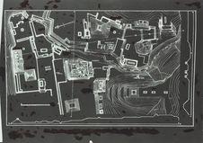 Plan de la cité Maya de Palenque