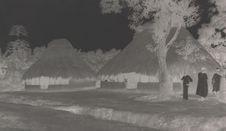 Maisons Susu en Guinée