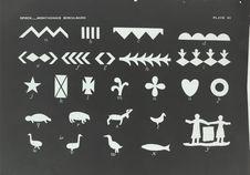 Motifs sur écorce de bouleau des Montagnais