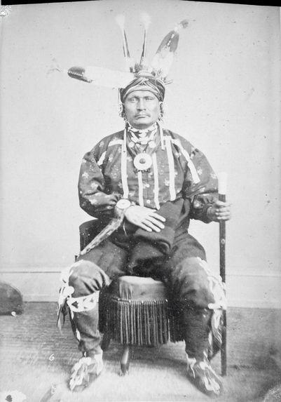 Type d'indien Iowa