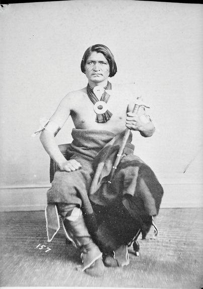 Type indien Dakota Sacs et Renards