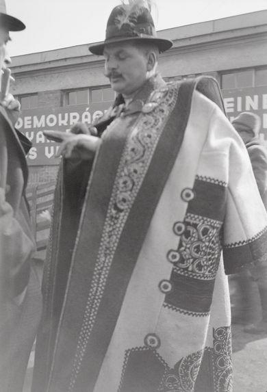 Berger hongrois à la foire