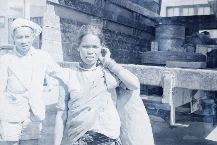 Femme Moï au marché de Dalat