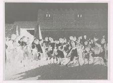 Touat. Orchestre nègre de Sali, accompagnant un danseur réputé