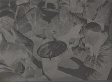 Au Bazar, pour quatre roubles on reçoit une ration de riz