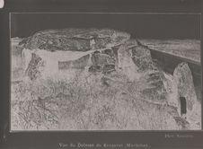 Vue du Dolmen de Kergavat