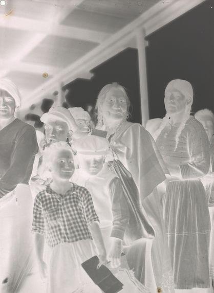 Femmes et enfants Araucan