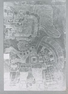 Tombe 104. Mur Nord. Fitao Coxobi (détail)
