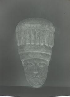 Masque fabriqué pour la foire exposition