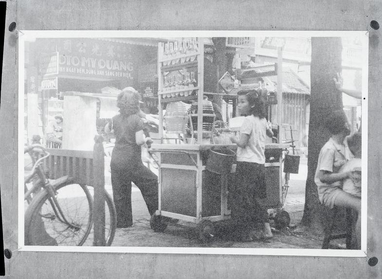 La marchande boissons glacées