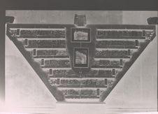 Uxmal. Inscription du Palais du Gouverneur