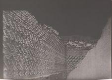 Mitla. Intérieur d'une salle dans le grand Palais