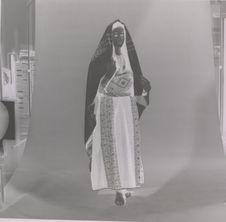 Vêtement de jeune femme début du XXe siècle