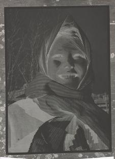 Sans titre [Portrait de jeune fille]
