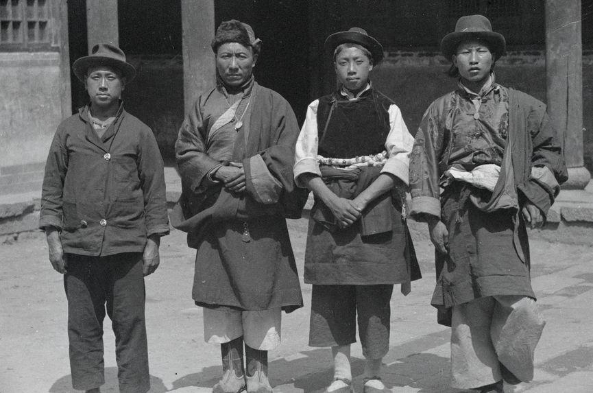 Tibétains et métis Sino-tibétains