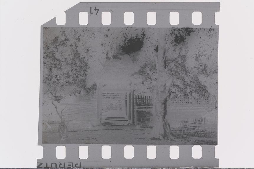 Porte d'entrée de la demeure seigneuriale
