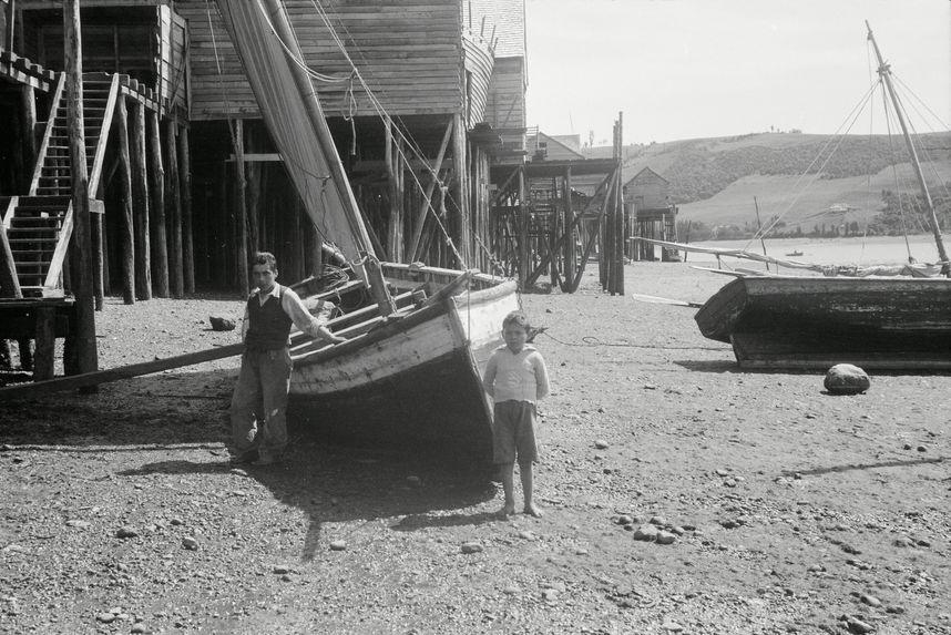 Sans titre [ bande film de six vues concernant des pêcheurs]