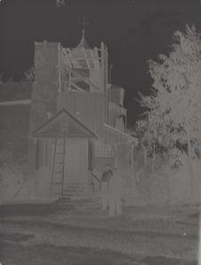 Sans titre [Restauration de l'église Saint-Nicolas le Thaumaturge du monastère...