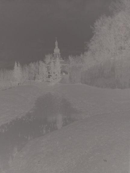 Sans titre [Rempart du monastère de Pskov]