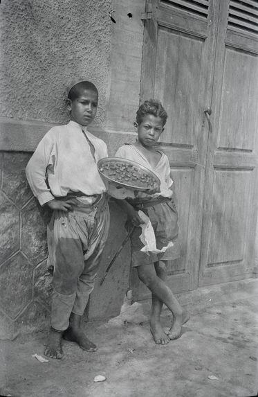 Jeunes vendeurs d'alohas