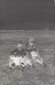 Jeunes garçons sur la route de Topçin à Vodena