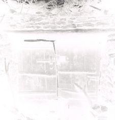 La porte double de la gelaa