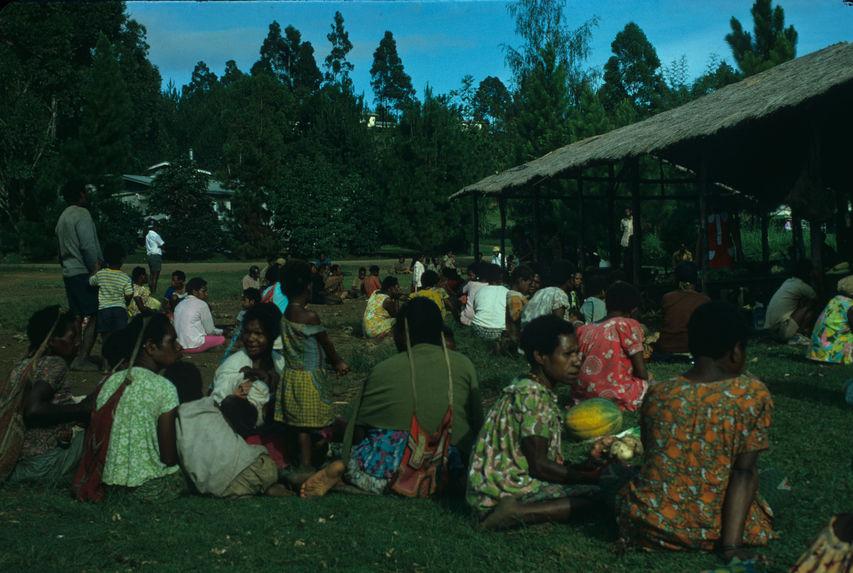 Nouvelle-Guinée. Ukarumpa. Marché