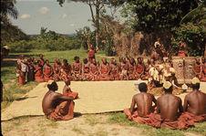 Sans titre [groupe regardant un rituel]