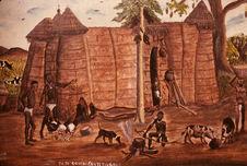 Photographie d'une peinture Somba