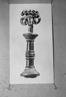 Sans titre [Photographie de statuette Sénoufo]