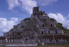 Mexique [Acropole d'Edzna]