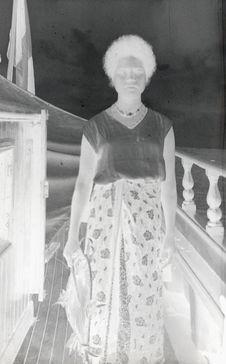 Sans titre [Portrait d'une femme]