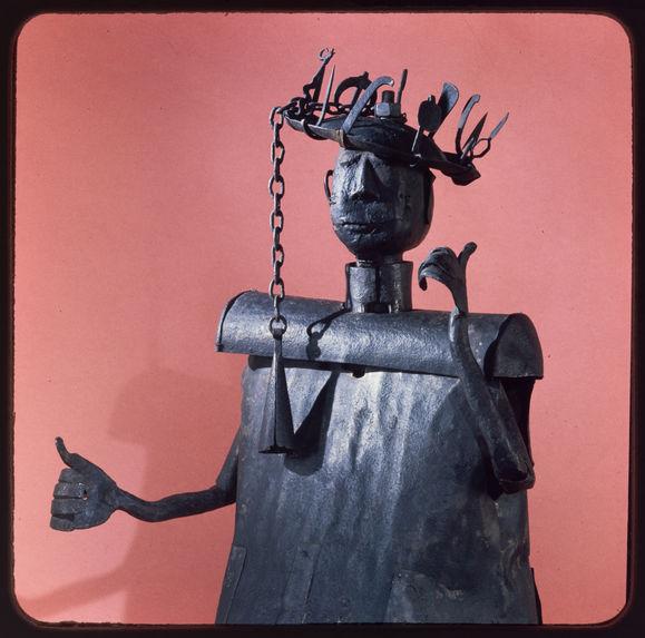 Statue représentant le dieu Gou