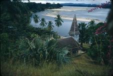 Lambaréné, le temple. Gabon