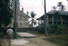 Lambaréné, l'église, Gabon