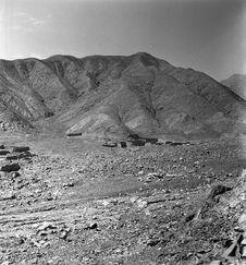 Bande-film de 3 vues concernant la vallée de Lurin. Sites précolombiens Molle et...
