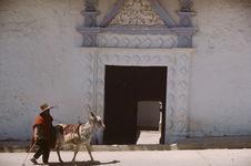Ville de Cajamarca. Eglises, rues, maisons, places