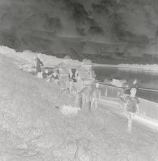 Sans titre [Membres de la mission le long du fleuve Ogooué]