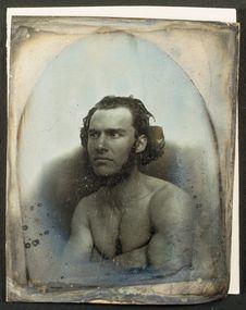 Photographie du daguerréotype n°PM000103 : Type descendant de Canarien