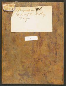 Photographie du verso du daguerréotype n°PM000070: Arabe de Zanzibar