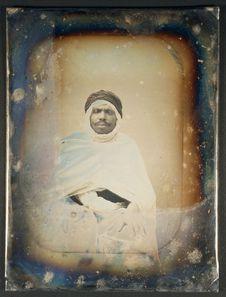 Photographie du daguerréotype n°PM000022 : Ali-ben-Moussada
