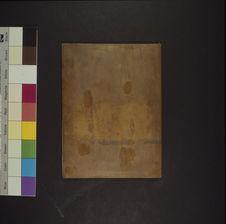 Photographie du verso du daguerréotype n° PM000081 : Femme Ouarsanguéli