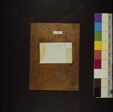 Photographie du verso du daguerréotype n° PM000139 : Aziza