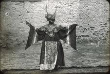 Costume avec masque de cerf