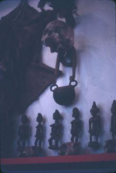 Sénoufo diety [statues]