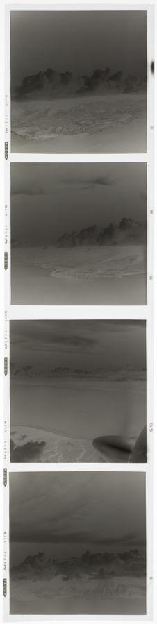 Bande film de quatre vues concernant des vues aériennes